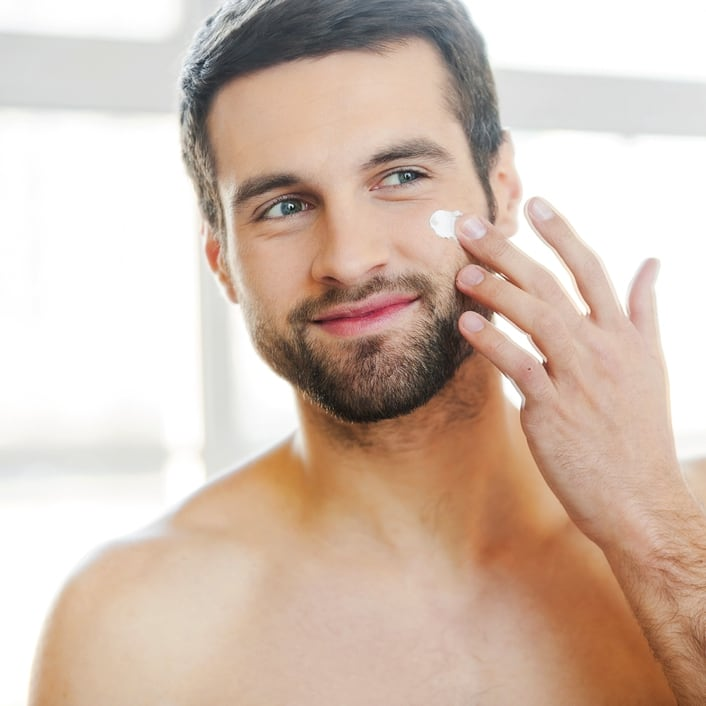 routine beaute homme
