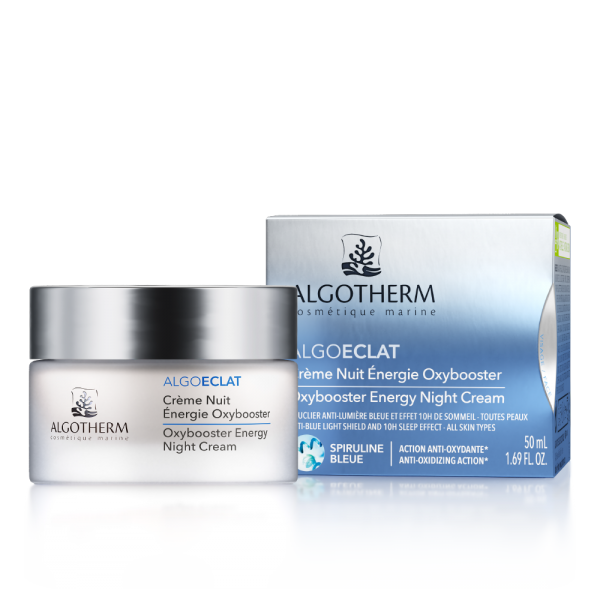 Crème Nuit Energie Oxybooster ALGOECLAT 50ml